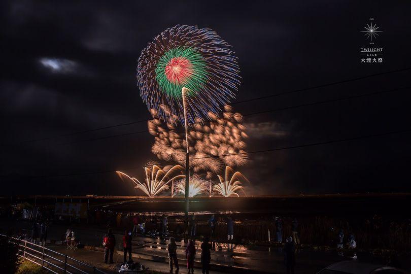 トワイライトふくしま大煙火祭の画像